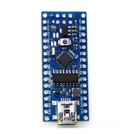 NANO V3 - 16MHz USB - ATmega328P - odpowiednik CH340 - Klon - kompatybilny z Arduino