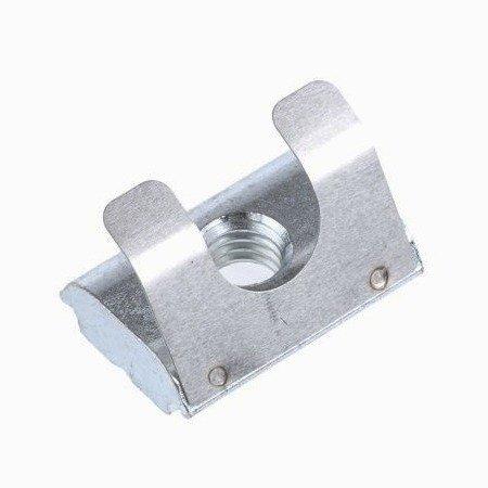 Nakrętka z blokadą - sprężyną - wpust - do profili aluminiowych 3030 - TSLOT, T-NUT, TNUT