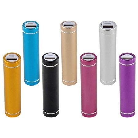 Obudowa do powerbank - na 1 akumulator 18650 -  USB 5V 1A - niebieski