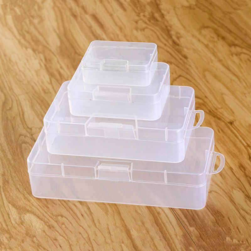 Organizer - Plastikowe pudełeczko 67x49x23mm - zamykany pojemniczek