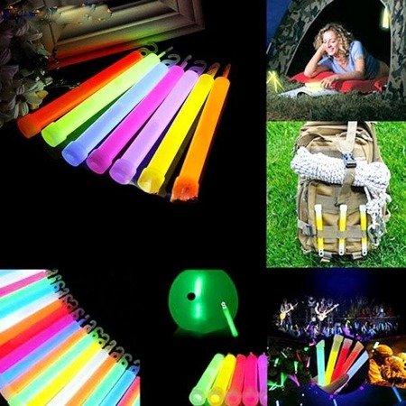 Oświetlenie chemiczne - Lightstick 15cm - Światło fluorescencyjne - SURVIVAL