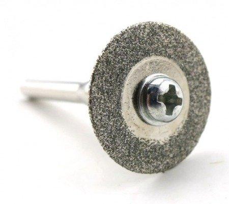 Piła tarczowa do metalu - 25mm - diamentowa - do dremela, mini gumówki