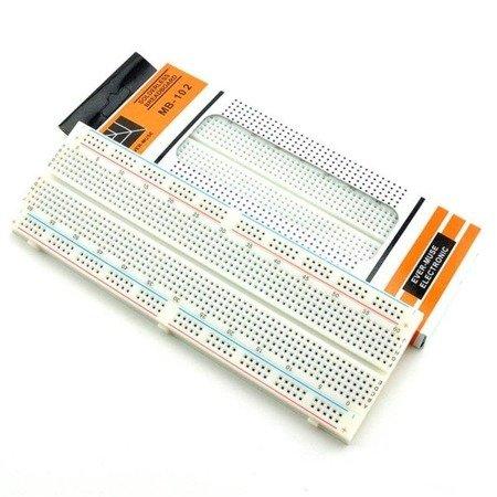 Płytka stykowa 830 otworów - do Arduino - MB-102 - płytka prototypowa