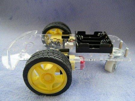 Podwozie robota 2WD RT-5 - 210mm - 2 silniki - podwozie Arduino