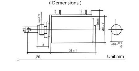 Potencjometr wieloobrotowy - 100K Ohm - 2W - WXD3-13-2W