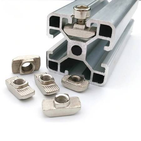 Profil aluminiowy T6 2020 T6 1m - anodowany - do drukarek 3D, stelaży, maszyn przemysłowych