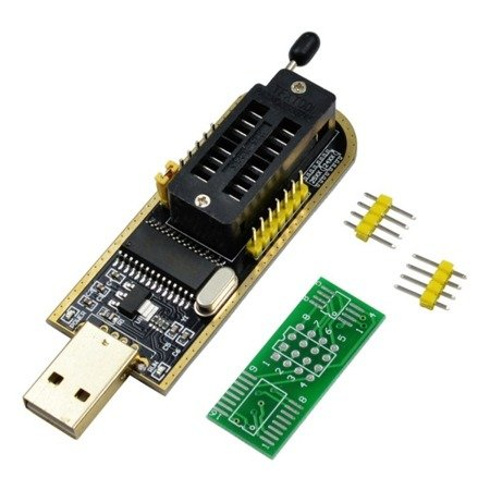 Programator USB CH341A Gold - SPI Flash EEPROM TTL