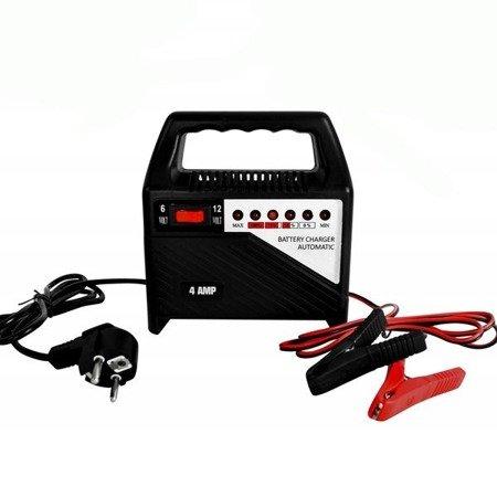 Prostownik do akumulatorów 12V 24V -4A - MALATEC - ładowarka samochodowa