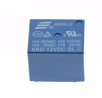 Przekaźnik SONGLE SRD-12VDC-SL-C - 12V - styki 250VAC 10A