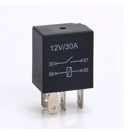 Przekaźnik samochodowy 12V - 30A - wodoodporny - 4-pin