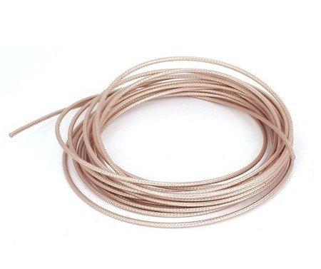 Przewód koncentryczny - antenowy - RG316 - impendancja 50 Ohm - izolacja PTFE