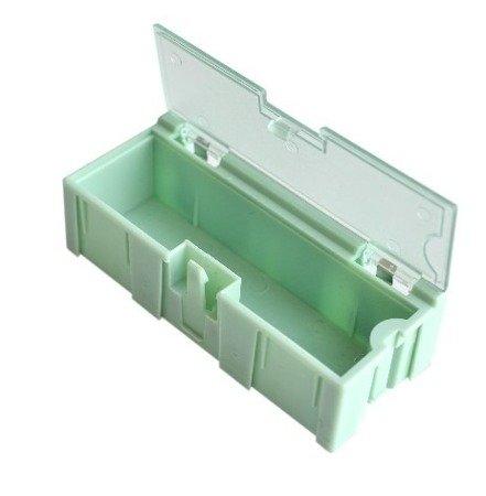 Pudełko do przechowywania elementów SMD - 75x30x22mm z pokrywką
