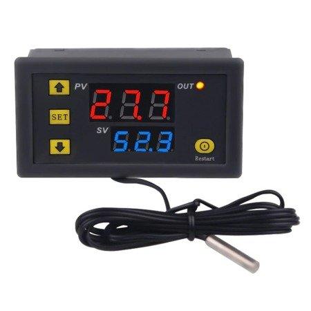 Regulator temperatury 110-220V od -50°C do 120°C -  W3230 - Termostat