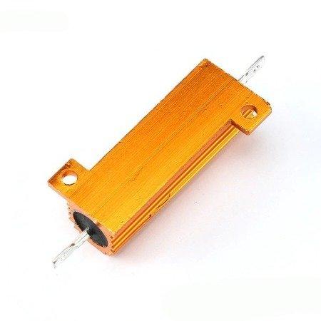 Rezystor 50W - 4 Ohm - w aluminiowej obudowie - RX24 50W 4R