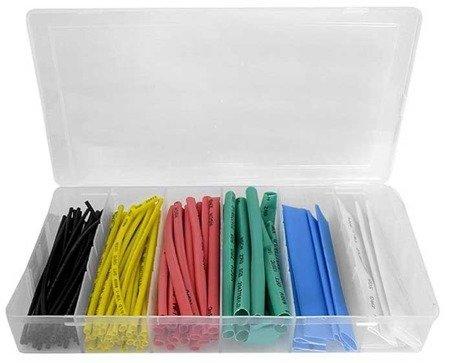 Rurka Termokurczliwa - Zestaw 100 szt koszulek - kolor - 1,5 do 13mm