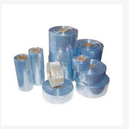 Rurka koszulka termokurczliwa PVC Ø17mm - czerwona 1mb - szerokość 25mm