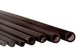 Rurka szklano-poliestrowa 5/3mm - 1mb czarna
