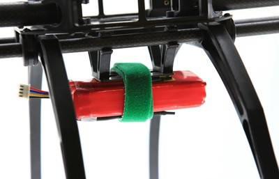 Rzep opaska z klipsem 20x200mm  - rzep dwustronny mocujący - 1szt