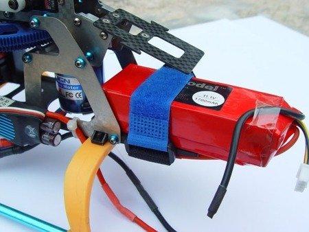 Rzep opaska z klipsem 20x300mm  - rzep dwustronny mocujący - 1szt