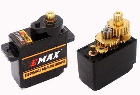 Serwo EMAX ES-08MA II- 12g - 2,0kg/cm - metal, analog