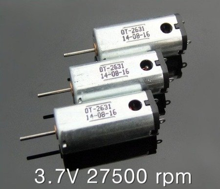 Silnik szczotkowy N50 - 27500 RPM - 1V-5V