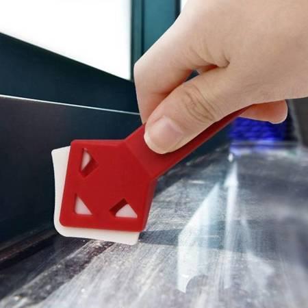 Skrobaki do usuwania resztek kleju i silikonu - 2 szt - szpachla - łopatka