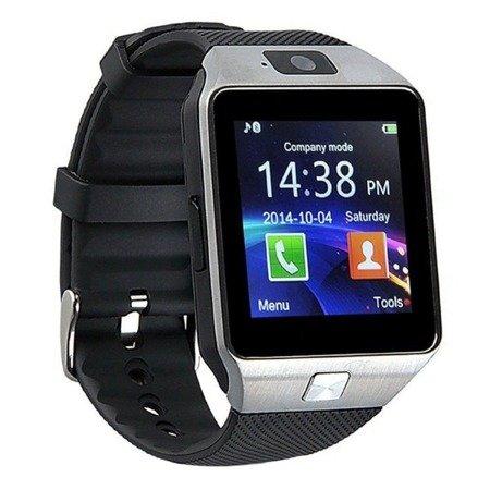 SmartWatch DZ-09 - Slot kart SIM - Zegarek Wbudowana kamera - MicroSD do 32GB