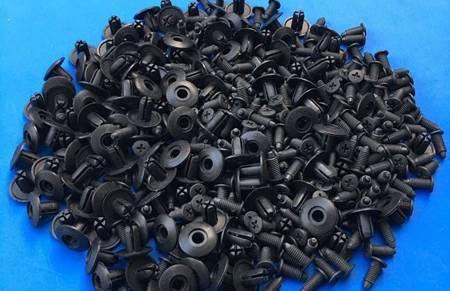 Spinki samochodowe uniwersalne Typ 543 - 8mm - Kołek tapicerski - nit - 10szt