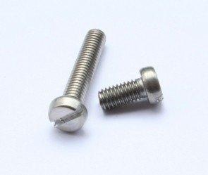 Śruba zwykła M2x10  - do metalu - metryczna- 10 szt