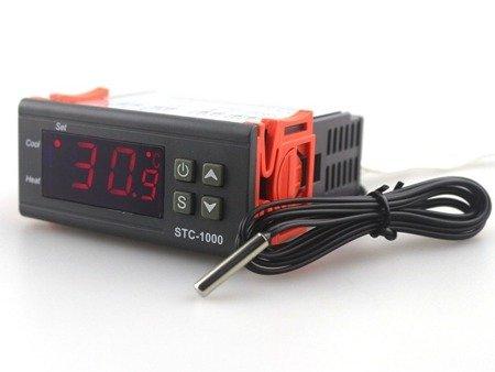 Sterownik, regulator temperatury STC-1000 - 220V - od – 50 do 99°C  - termostat