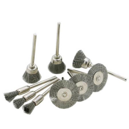 Szczotka druciana 25mm - do dremela, mini gumówki