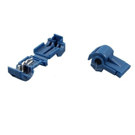 Szybkozłączka zaciskowa T2 - Złącze przewodów 0,8-2 mm²  - rozgałęźnik