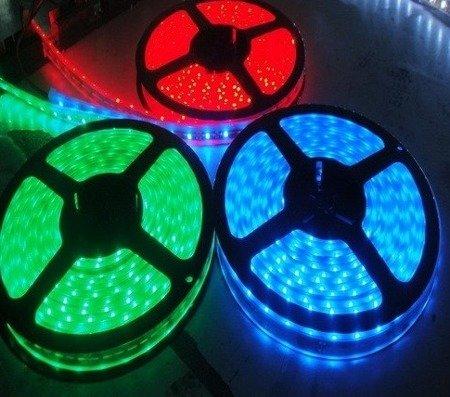 Taśma LED wodoodporna 20cm 12V - czerwona - 12 diod