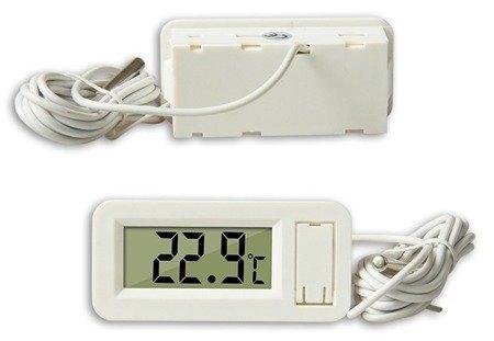 Termometr  VKS-30 - miernik temperatury od -50°C do 70°C - sonda - biały