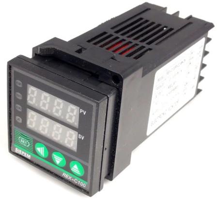 Termostat REX-C100FK02-V*AN KLON - 220V - na przekaźnik SSR - sterownik - termoregulator - REX-C100FK02-V*AN DN