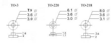 Tulejka izolująca TO220 - M3 - biała - 10 szt.