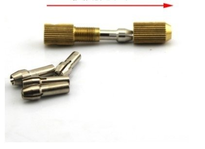 Uchwyt do Mini Wiertarki na wiertła 0,5 - 3mm - na oś 2mm - głowica wiertła Zestaw
