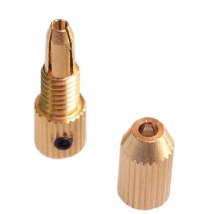 Uchwyt do Mini Wiertarki na wiertła od 0,7mm do 1,5mm - głowica wiertła na oś 2.3mm