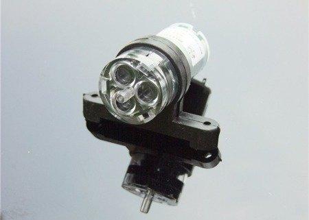 Uchwyt gumowy na pompę 385  - mocowanie silnika typu 380 - opaska 28 mm