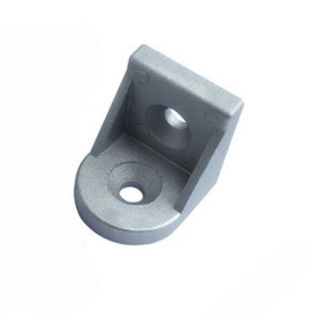 Uchwyt narożny zaokrąglony do profili aluminiowych 2020 - TSLOT, T-NUT, TNUT