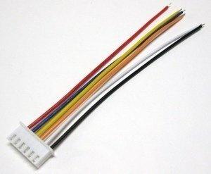 Wtyk balansera XH 5S z przewodem - Złącze balancera 6 Pinów