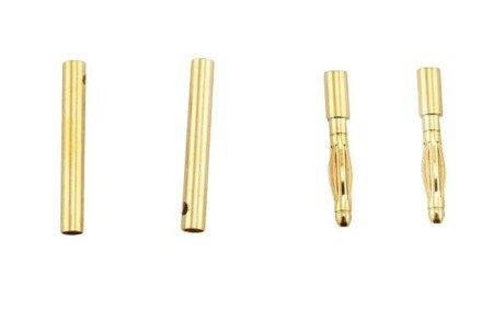 Wtyki GOLD - 2mm - para - konektory