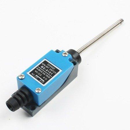 Wyłącznik krańcowy ME-9101 - 230V AC - 5A - ramię sprężynowe