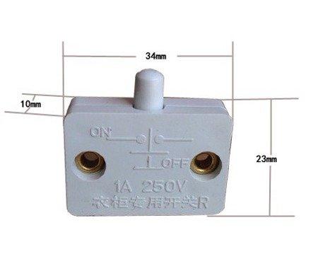 Wyłącznik krańcowy drzwiowy - WK3323 1A/250v - przełącznik mechaniczny