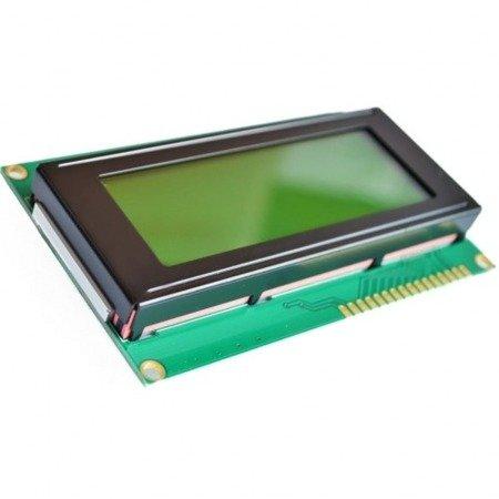 Wyświetlacz LCD 4x20 - Żółty - ze sterownikiem kompatybilnym z HD44780 - 2004A