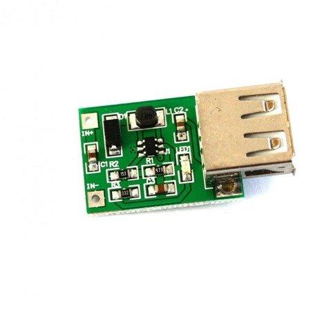 Zasilacz USB 5V 1000mA - awaryjne zasilanie USB z jednej celi lipola 1S