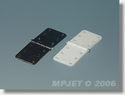 Zawias płytkowy 11mm/28mm - ze sztyftem - MP-JET 2501/2500