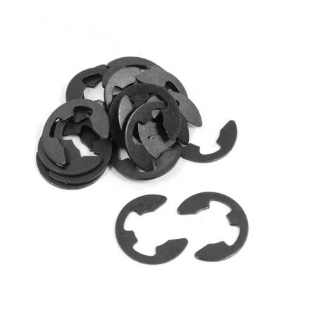 Zawleczka - E-clips - 6 mm - spinka - seger - 10 szt