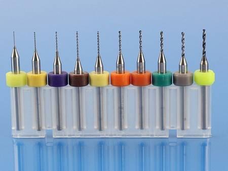 Zestaw wierteł do PCB - 0.1-1mm - 10 szt. - wiertła do czyszczenia dysz drukarek 3D - L009W