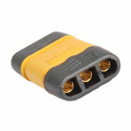 Złącze MR30 -  Konektor Amass - wtyk + gniazdo - mini złącze z osłonami do połączeń ESC-Silnik